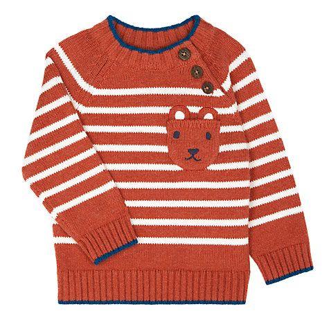 e364ee960 Buy John Lewis Baby Rusty Stripe Jumper