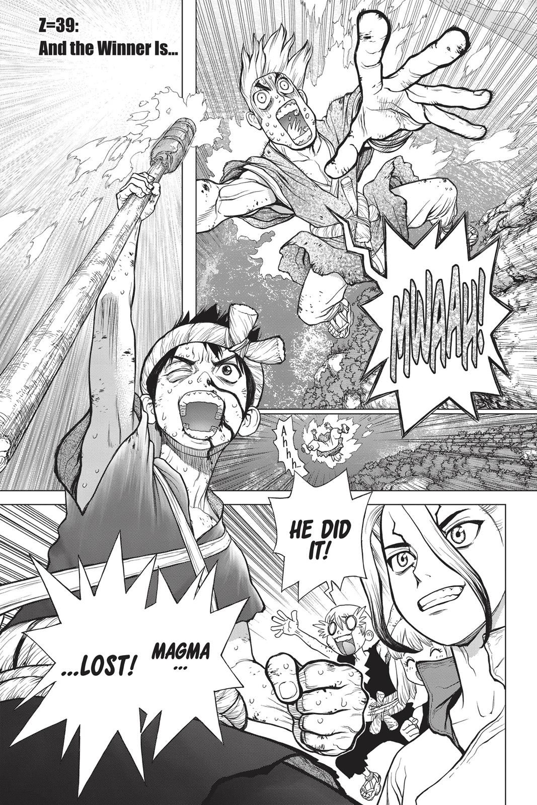 Dr Stone Chapter 39 In 2020 Chapter Stone Manga Online Read