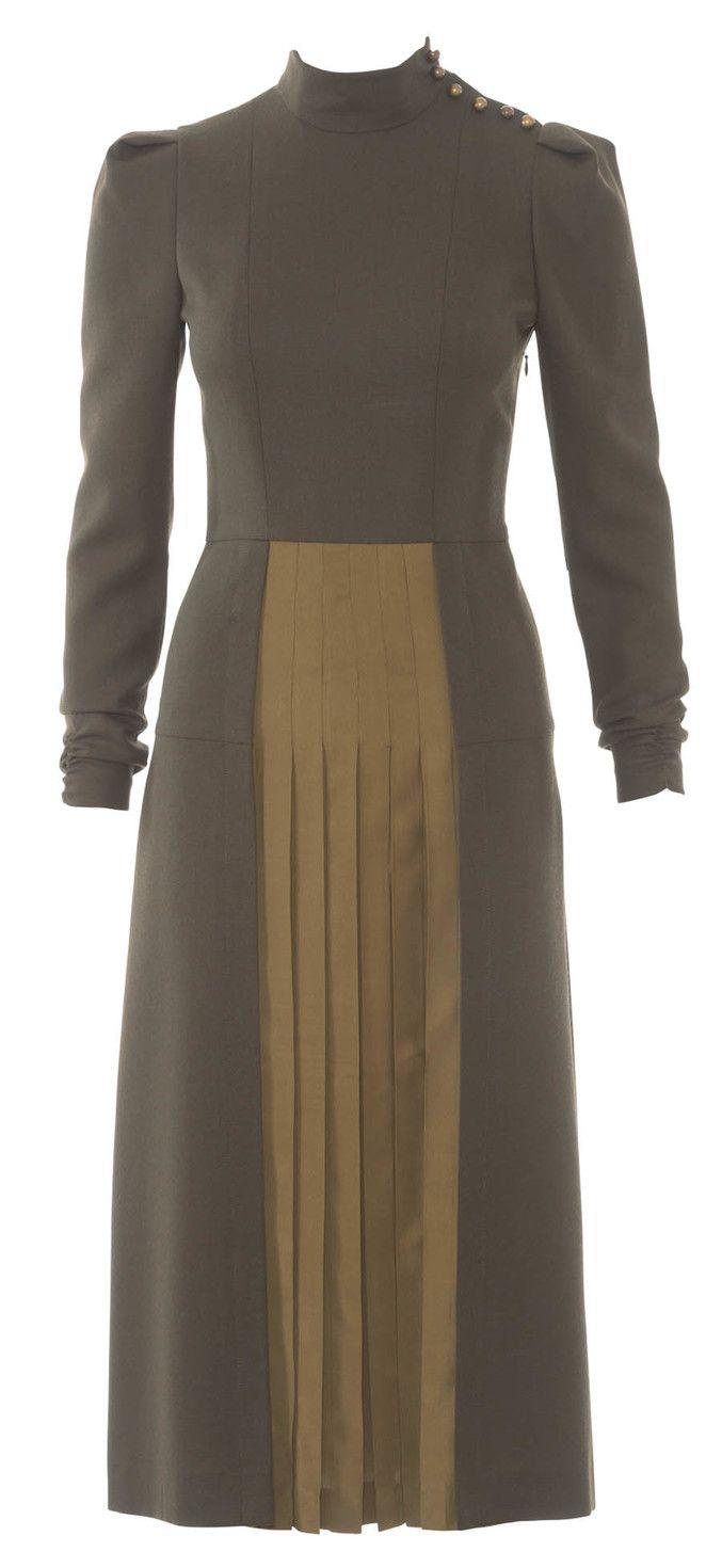 Schnittmuster Kleid 10/2015 #116 | Burda Schnittmuster | Pinterest ...