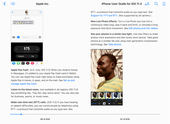 Iphone User Guide For Ios 11 4 On Apple Books User Guide Digital Marketing Social Media Ios 11