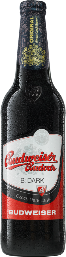 Bia Budweiser Budvar Dark 4,7% - Chai 330ml