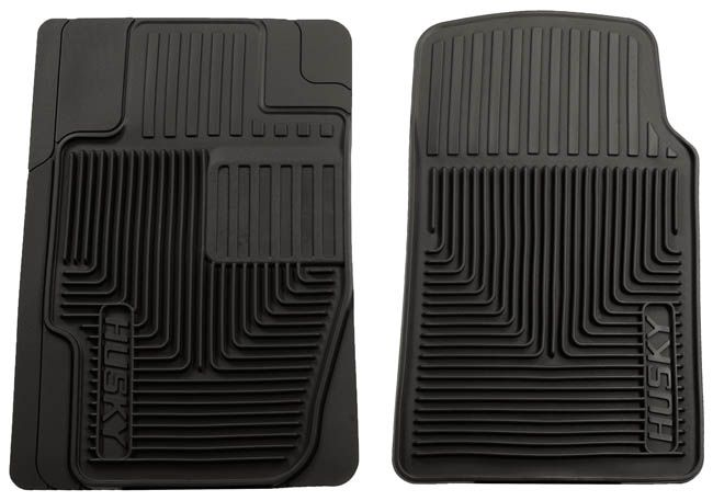 Picture showcasing Husky front floor mats (With images
