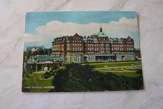 Vintage Unused Postcard Hotel Majestic by TrooperslaneBooks