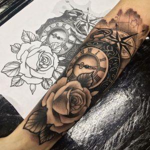 f7d0ccbd137f7 Popular Wrist Tattoo Models in 2019 - Tattoos For Men: +100 Best Men Tattoo