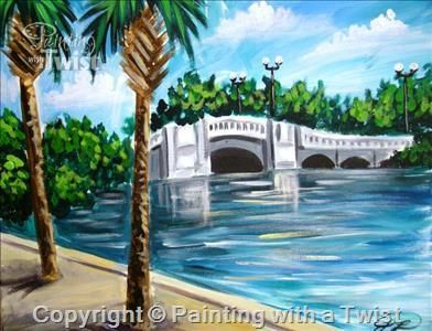 White Bridge Naples Fl Painting Class Painting With A Twist