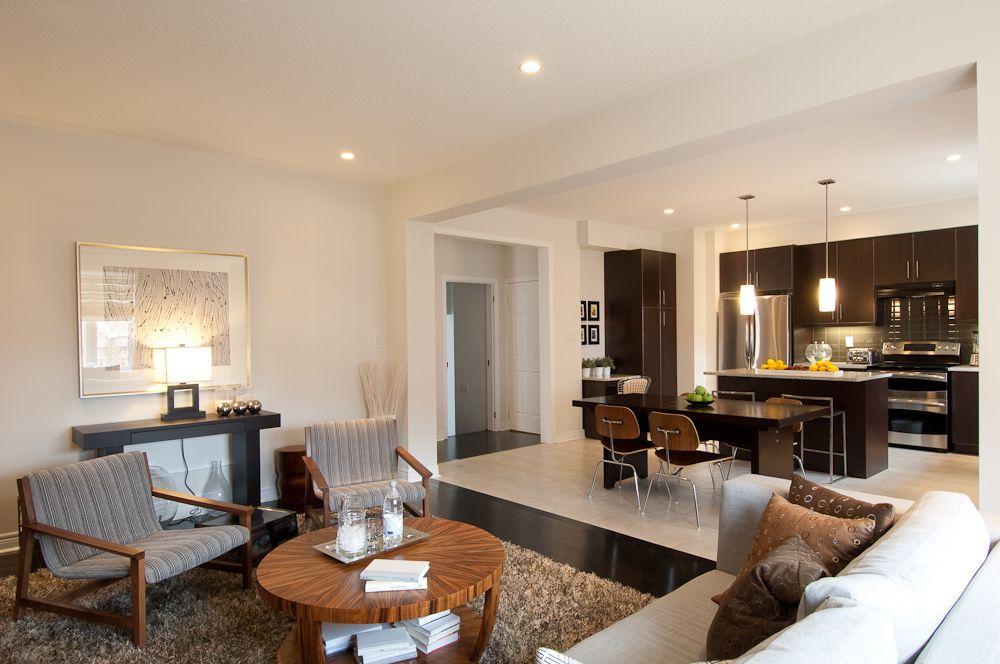 Nichols Manor Homes: Model living/dining area. #NicholsManor #Monarch #Markham #GTA #dining #living #design #decor #home