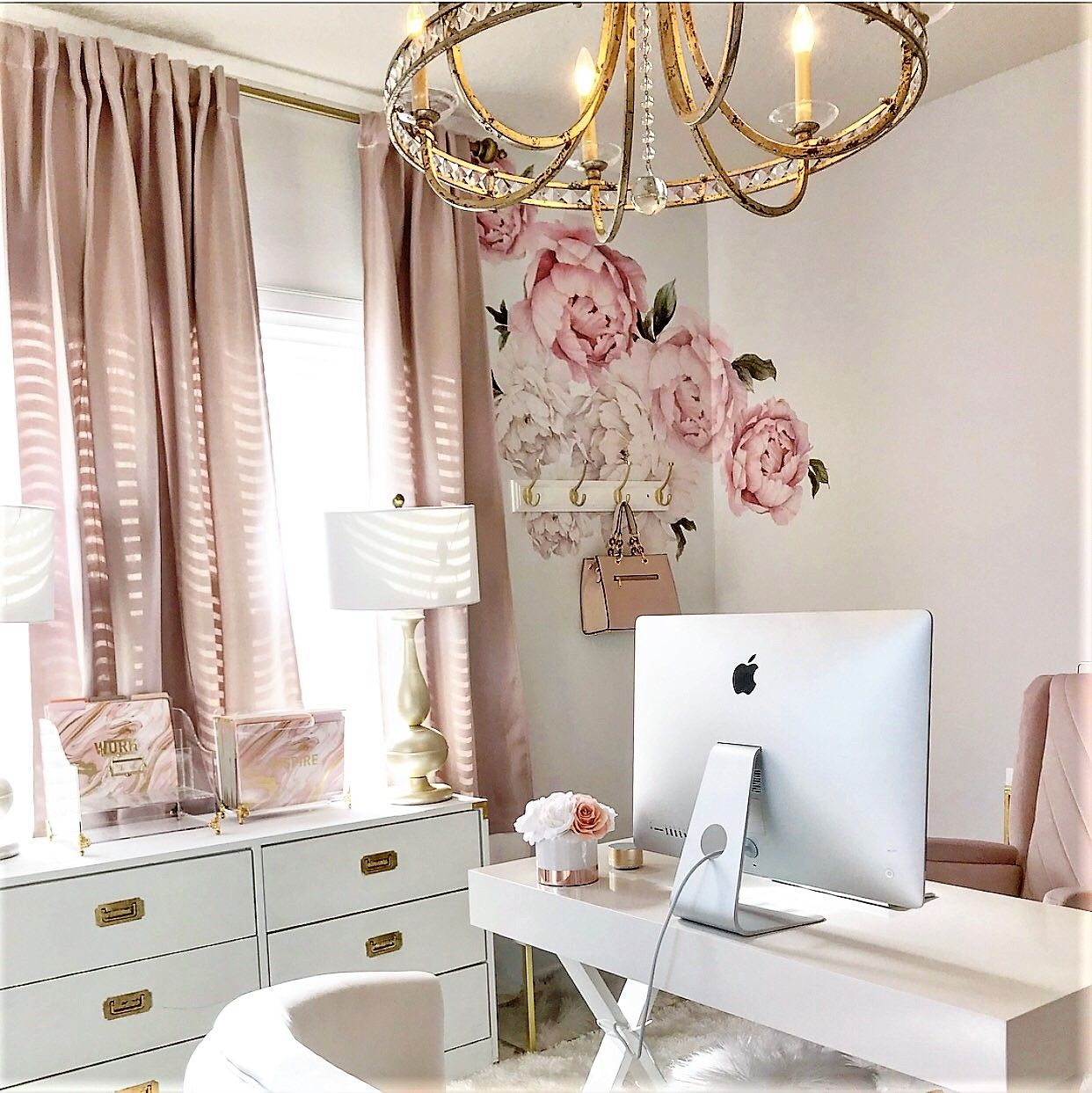 Peonies Wall Decals – Be My Guest With Denise