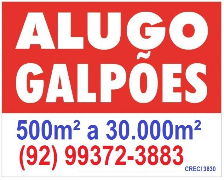 4b951afa516 GALP O 6.000M  PARA ALUGAR NO POLO INDUSTRIAL 1, DE MANAUS ...