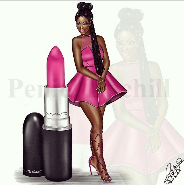Ms Candy Yum-Yum M.A.C. Girl series! #MAC #lipstick #beauty #Fashion #PenielEnchill