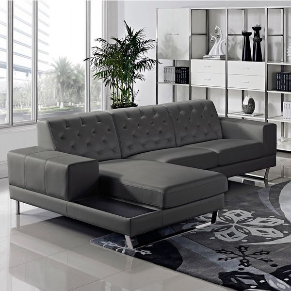 Overstock Com Online Shopping Bedding Furniture Electronics Jewelry Clothing More Contemporary Leather Sofa Contemporary Sectional Sofa Modern Bonded Leather Sectional Sofa