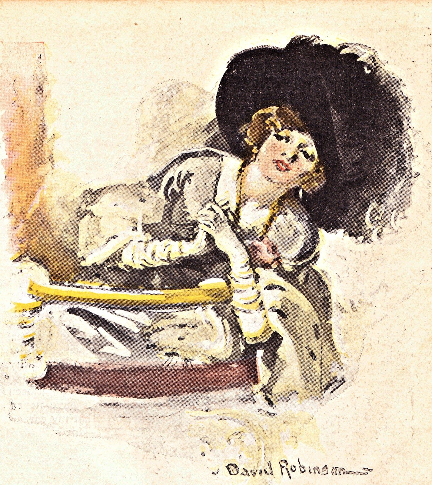 Boulevard de L'antique:  Free Images of the Day: Vintage Illustrations from a 1912 Magazine