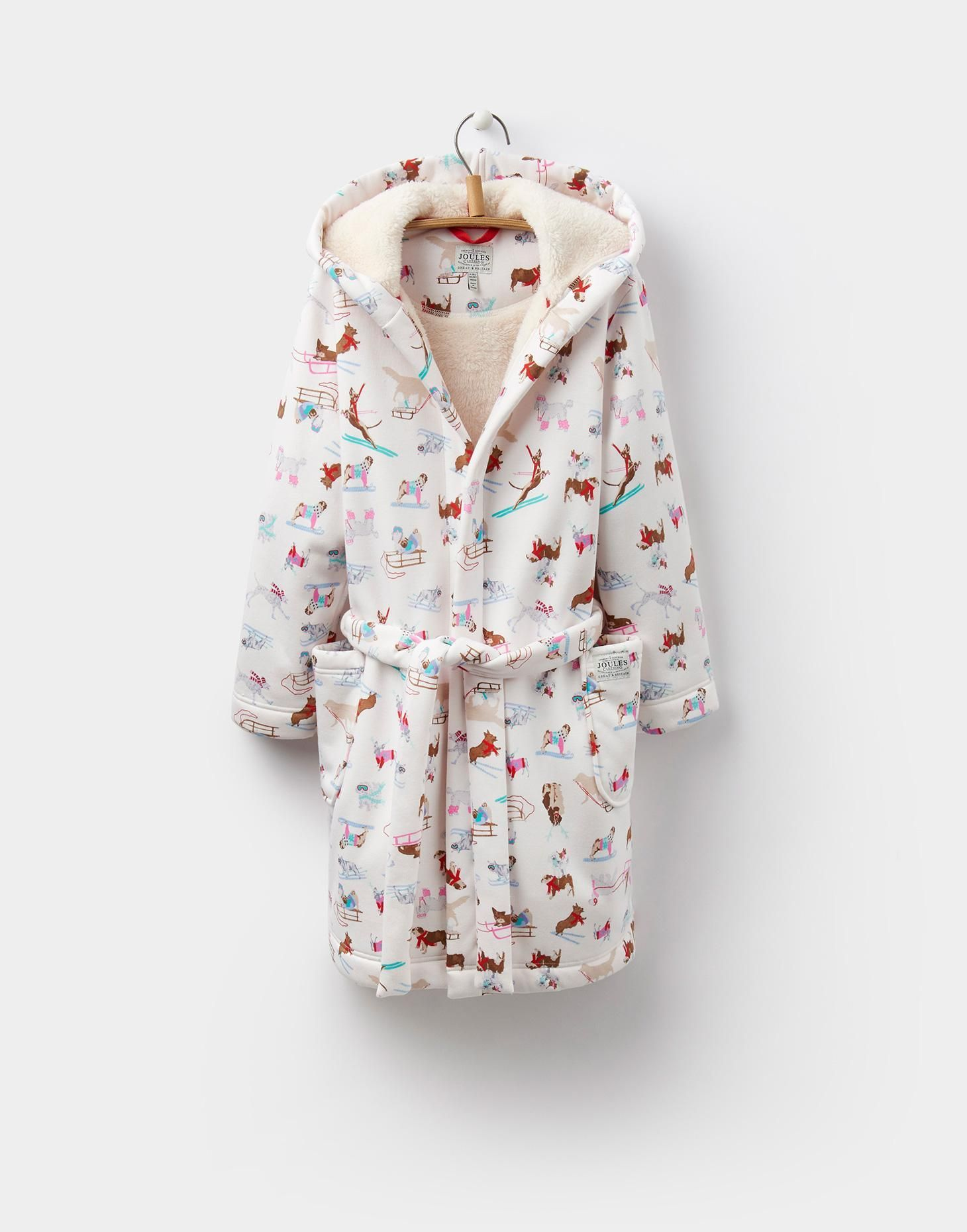 IDLEWHILE Fleece Lined Dressing Gown 3-12yr