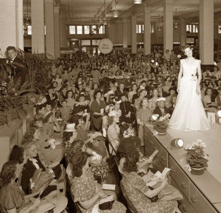 Kaufman-Straus Department Store - Fashion Show -Louiseville kentucky 1946