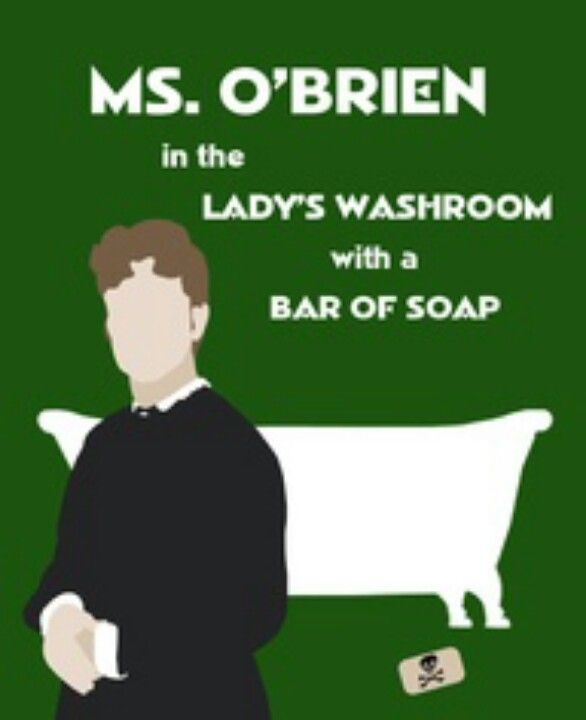 Ms O Brien In The Lady S Washroom With A Bar Of Soap Clue Joke Downton Abbey Downton Abby Downton Abbey Fashion