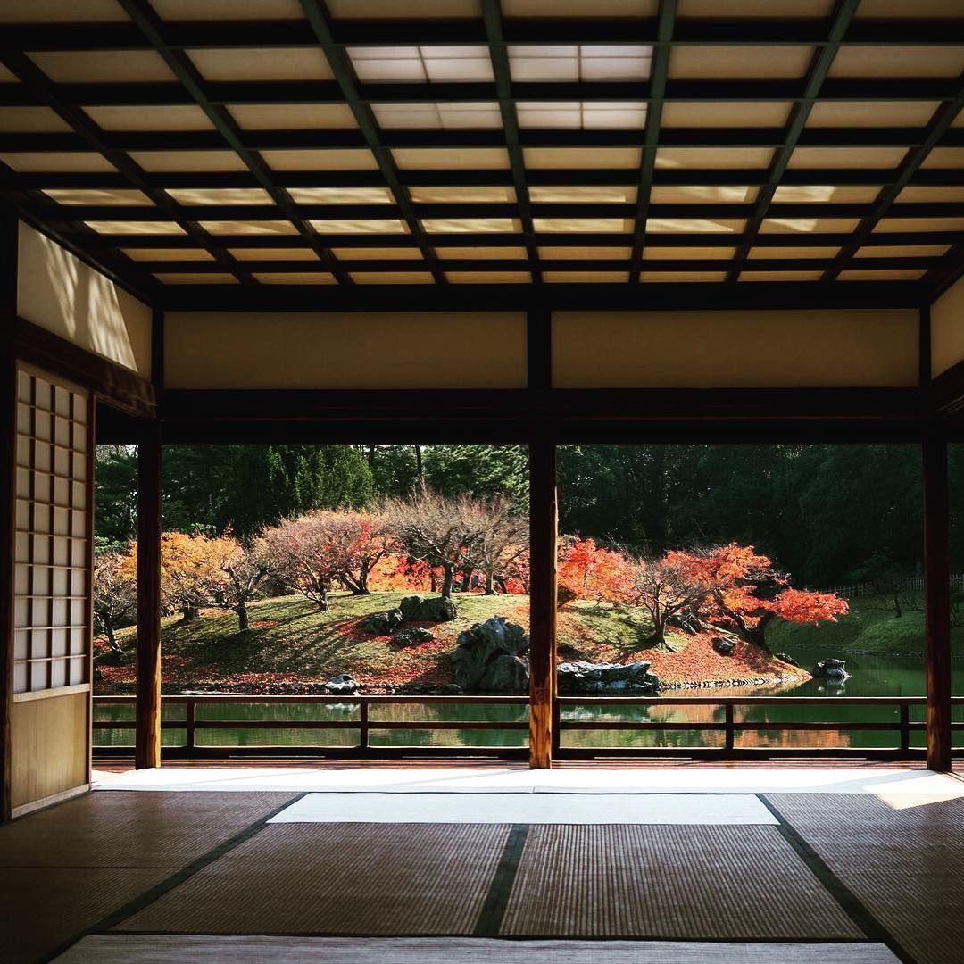 65 Philosophic Zen Garden Designs: #Japan #ritsuringarden #autumn #kagawa #shikoku #takamatsu