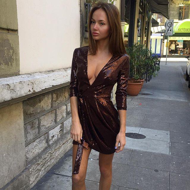 платья со вставками из кожи фото
