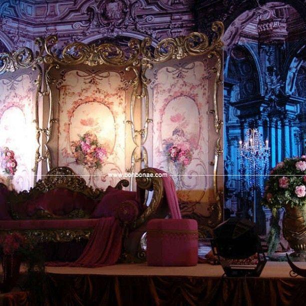 كوشة البارافان الكلاسيك حياة ريجنسي دبي من بون بون للكوش Bon Bon Productions Painting Bon Bons Backdrops