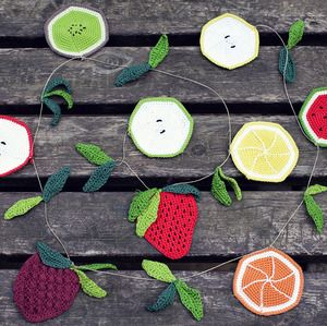Ganchitos - Patrón Guirnalda de Frutas