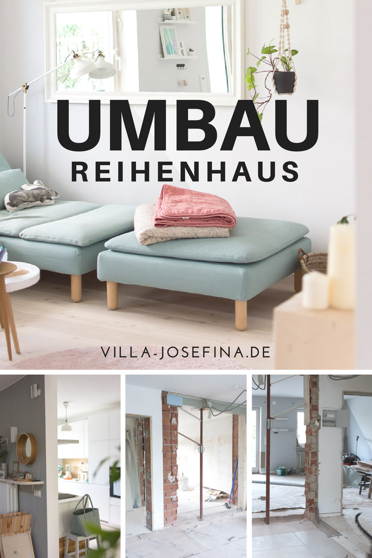 Umbau Reihenhaus Teil II - Wohnzimmer Update  Villa Josefina