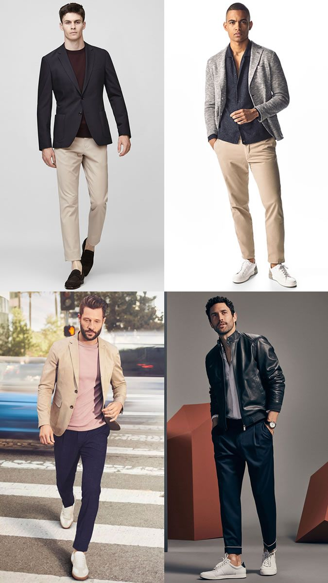 smart-casual outfits with jackets  0494e7ada