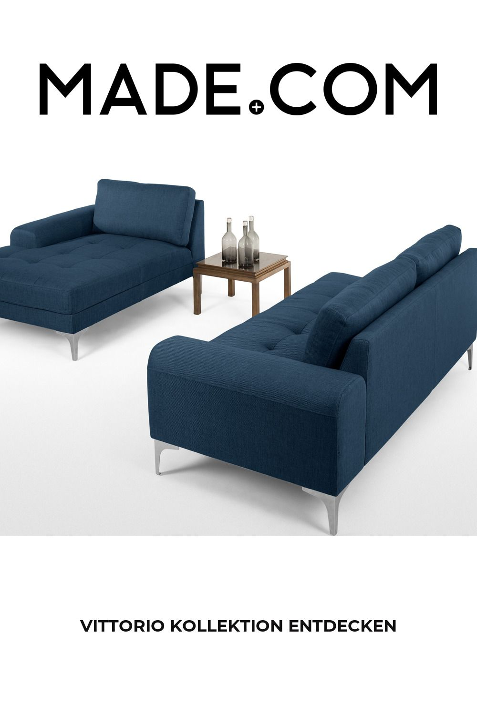 Made Ecksofa Blau In 2020 Furniture Couch Home Decor