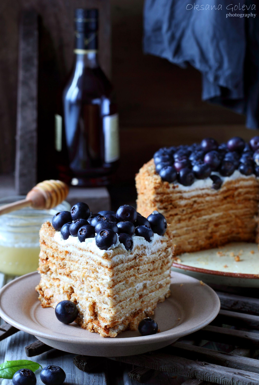 Медовик | Рецепты тортов, Десерты, Торт на сковороде