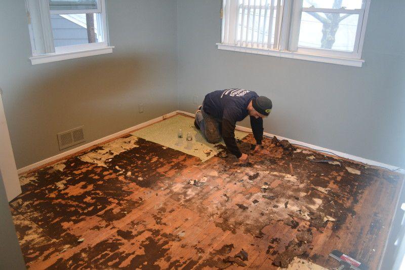 Carpet Removal and Hardwood Floor Refinishing Livingston