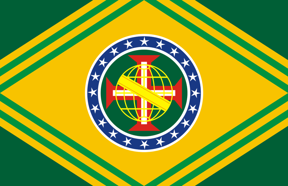 Flag Of The Second Brazilian Empire For My Lightnovel Project Thought Vexillology In 2020 Flag Historical Flags Empire