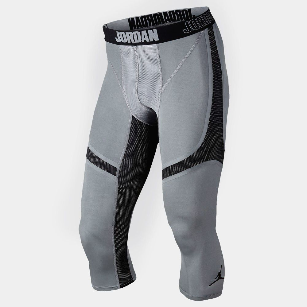 Nike Pro Hypercool Print 3/4 Tights Mens Black/Anthracite/White
