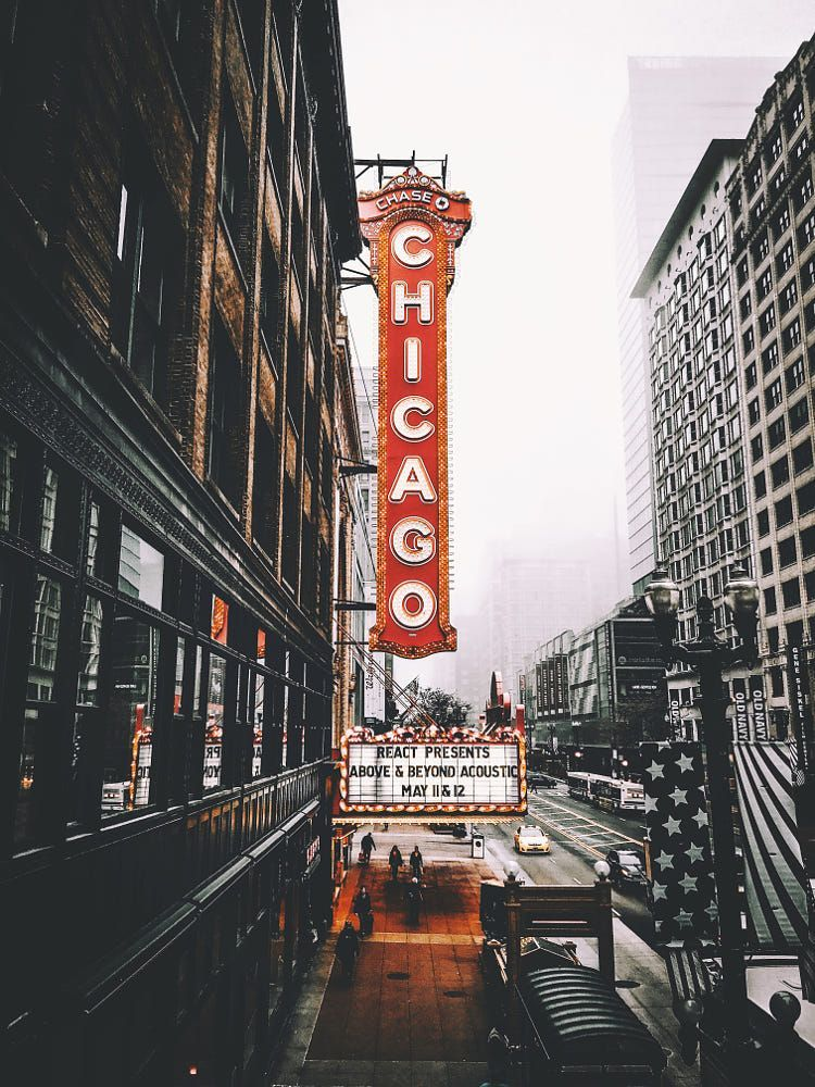 Chicago Theatre By Neal Kumar On 500px In 2020