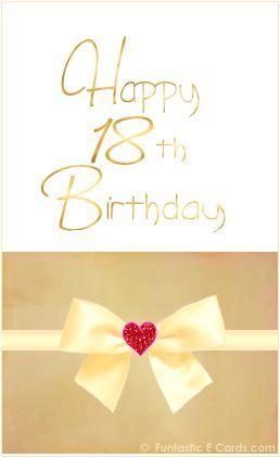 Happy 18th Birthday Jessie Card For Fb