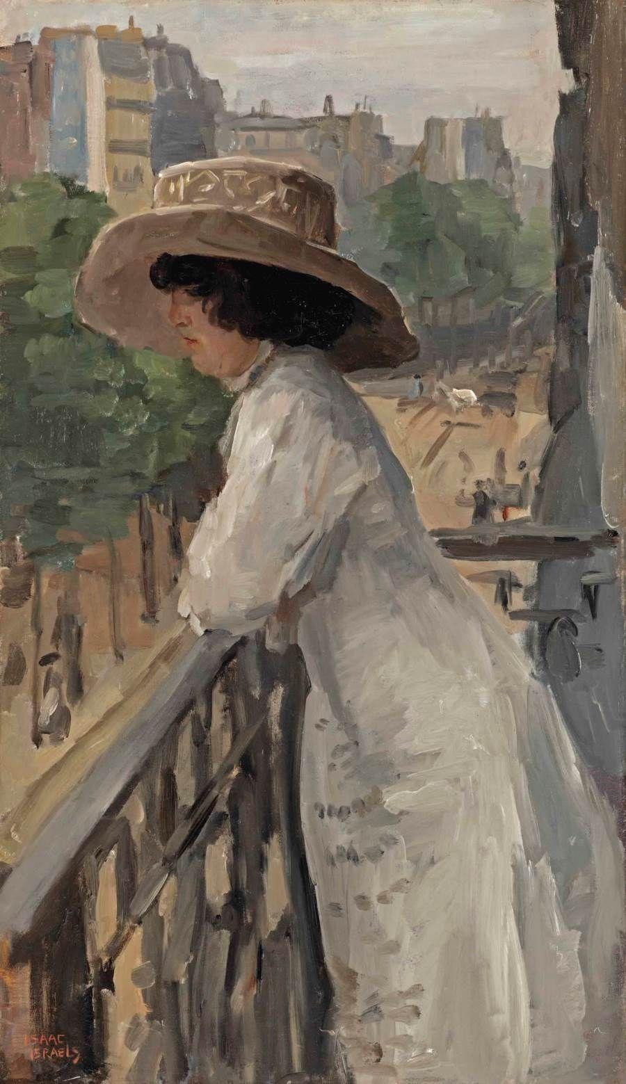 Isaac Israels (Amsterdam 1865- | Pinturas impresionistas, Pintura y  escultura, Pintores holandeses