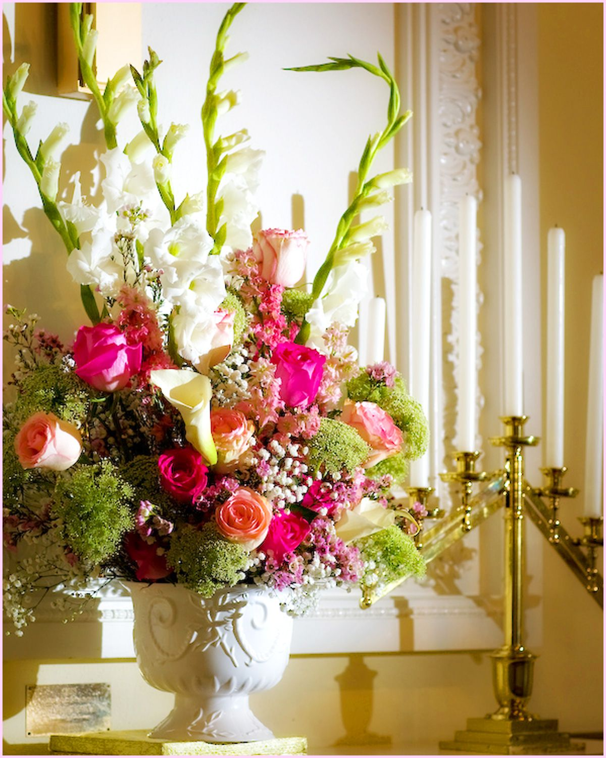 Altar Flowers...this Is Pretty Too But In Your Colors And