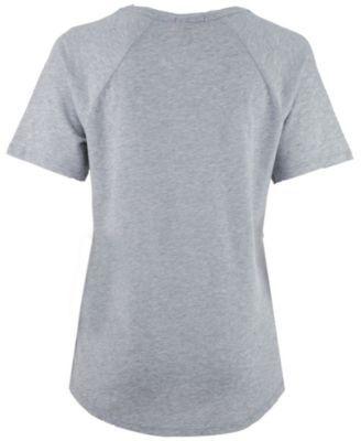 Mitchell & Ness Women's Cleveland Cavaliers Score V-Neck T-Shirt - Gray S
