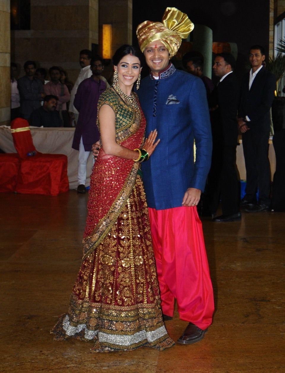 Happy 2nd Wedding Anniversary to Genelia and Riteish ...