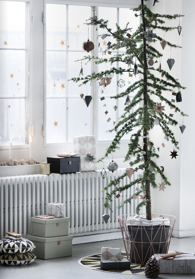gear up for the holidays with a festive tree christmas. Black Bedroom Furniture Sets. Home Design Ideas