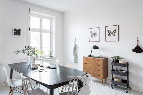 Scandinavisch Appartement Inspiratie : Binnenkijken in een scandinavisch appartement met zachte