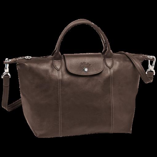 a7e641d2949 Handtas - LE PLIAGE CUIR - Tassen - Longchamp - Leemkleurig - Longchamp  België/Belgique