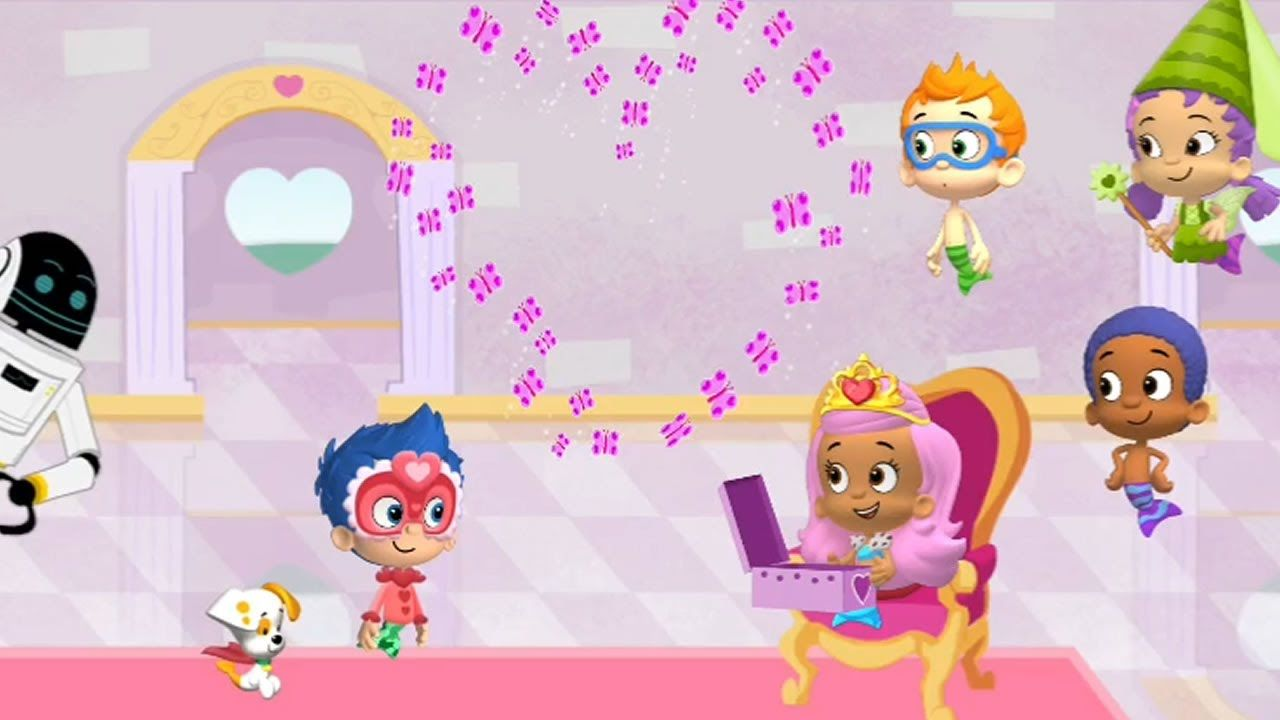 Bubble Guppies - Happy Valentines Play | Free Kid Games | Pinterest