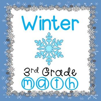 Winter Math Worksheets 3rd Grade Common Core | Math worksheets ...