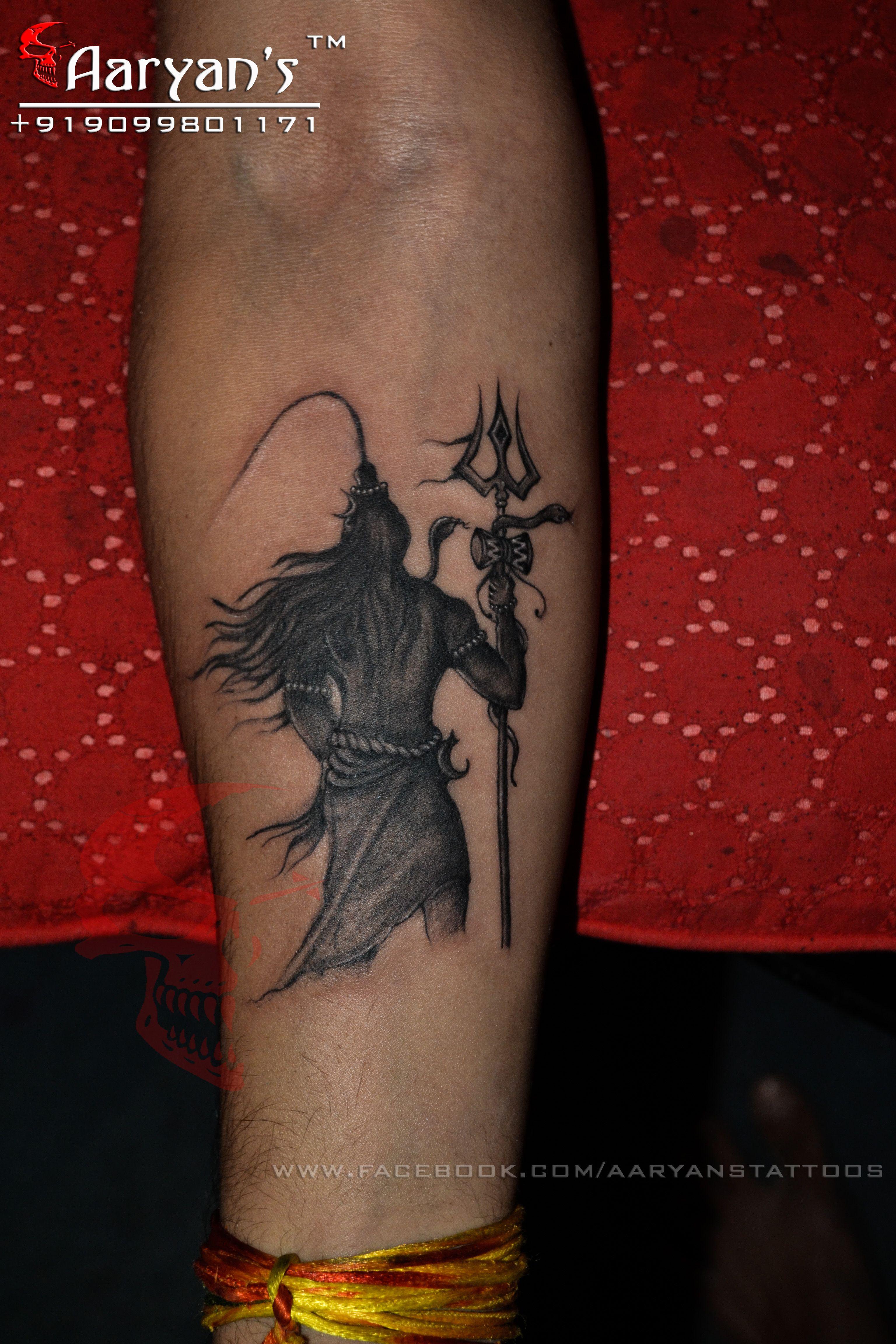 har har mahadev jay mahakal lord shiva tattoo done by aaryan