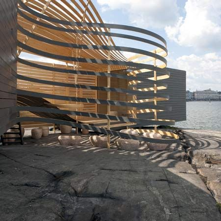 Pieta Linda Auttila Designed The WISA Wooden Design Hotel, An Architectural  Gem Of Wood Situated In The Maritime Heart Of Helsinki.