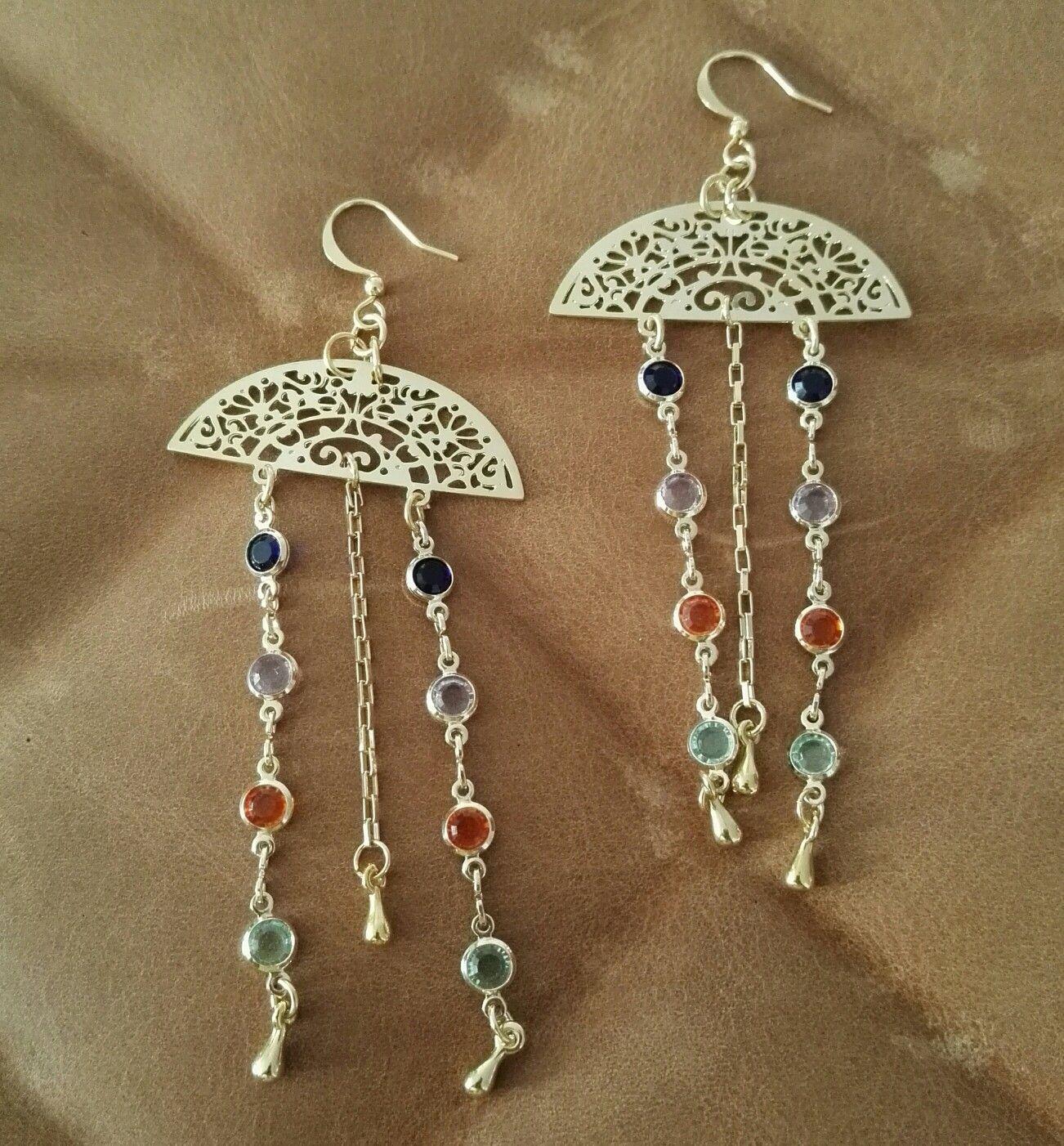 dc9b011d08bf Aretes medusa. Cristales y piedras semipreciosas.  sortilegio col.   earrings  maxiaretes