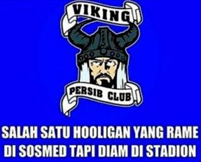 Gambar Dp Bbm Persib Bandung Unik Paling Dicari Gambar Viking Unik