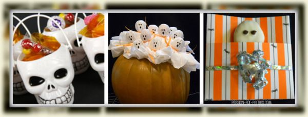halloween party favors (for my niece who was born on Halloween - halloween party decoration ideas