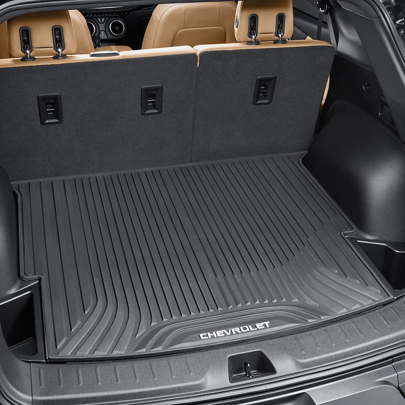 2019 Blazer Cargo Area Mat Black All Weather Without Cargo
