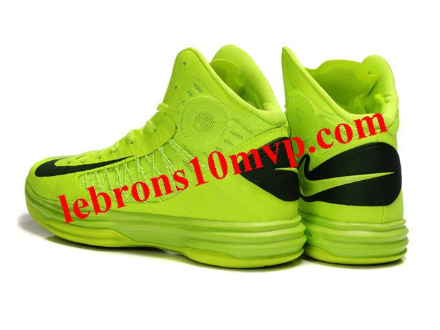 best cheap 9b025 86c62 Nike Lunar Hyperdunk X 2012 James Shoes Fluorescent Green