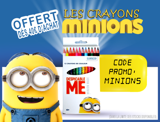 Minions crayons