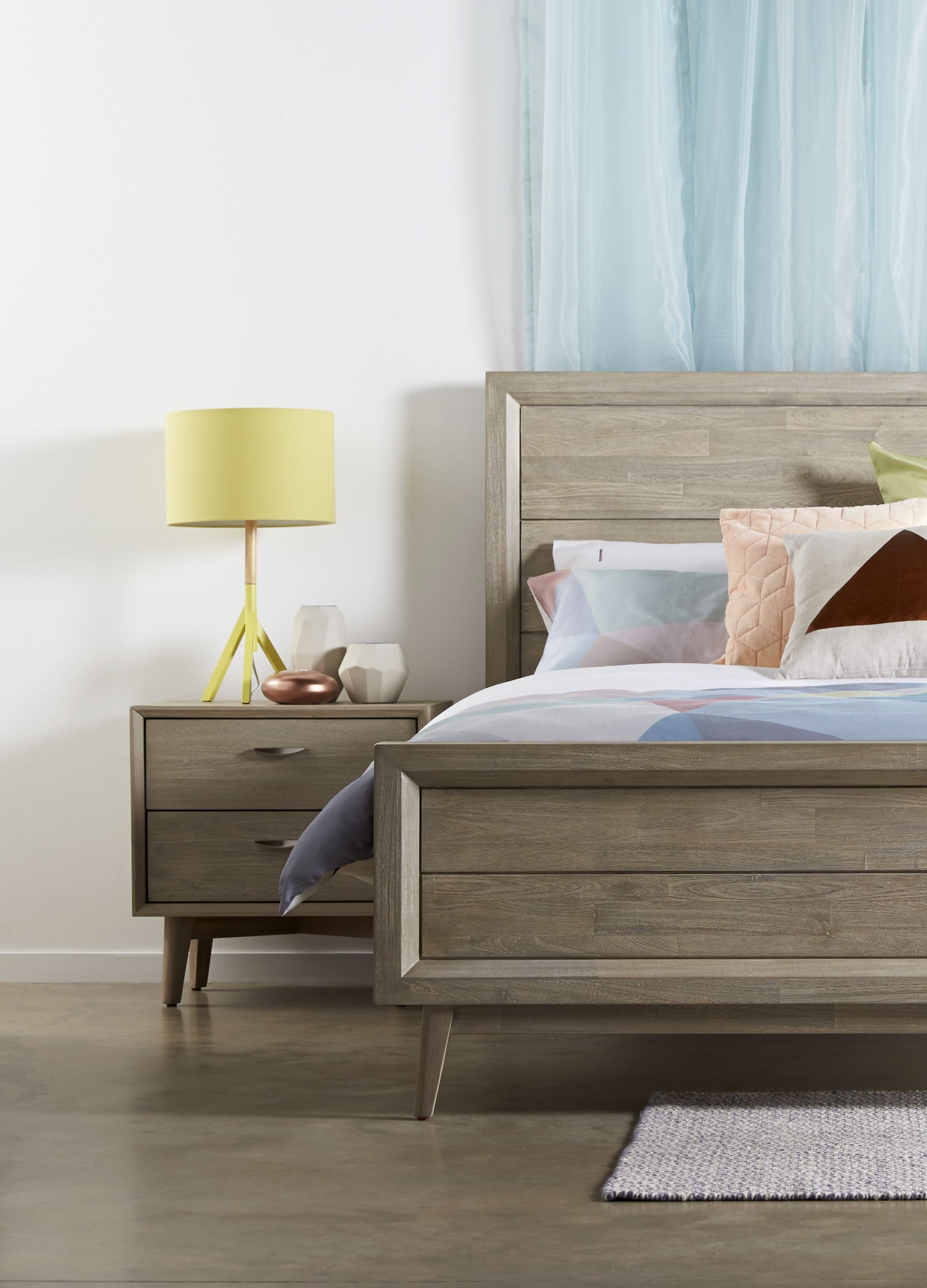 Nordic revival The Celeste suite from Bedshed gives a fresh take on