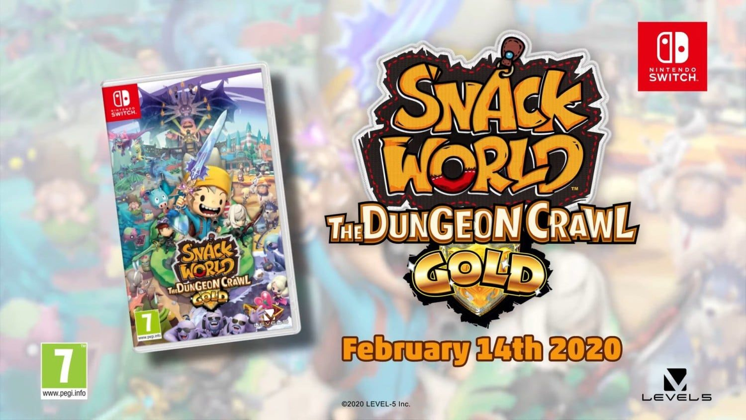 Xbox Games With Gold February 2020.Snack World The Dungeon Crawl Gold Officially Announced